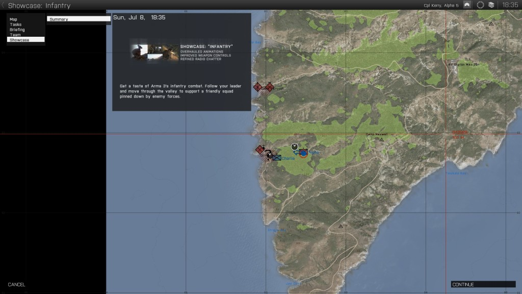 arma 3 map infantry