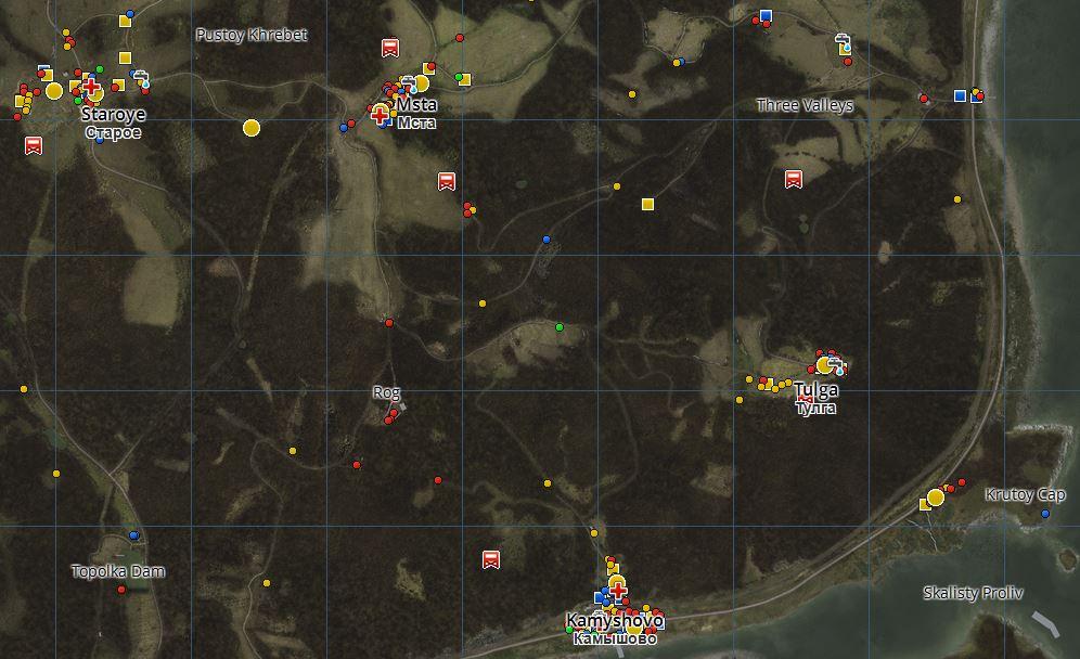 DayZ Steuerung Map Tour 2 Staroye Kamyshovo