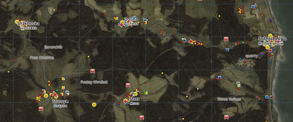 DayZ Map Wandertagebuch Tour 1