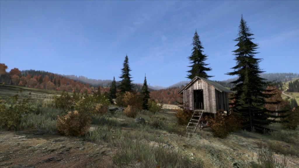 DayZ Wanderführer Tour 1 einsame Hütte nahe Shagovka