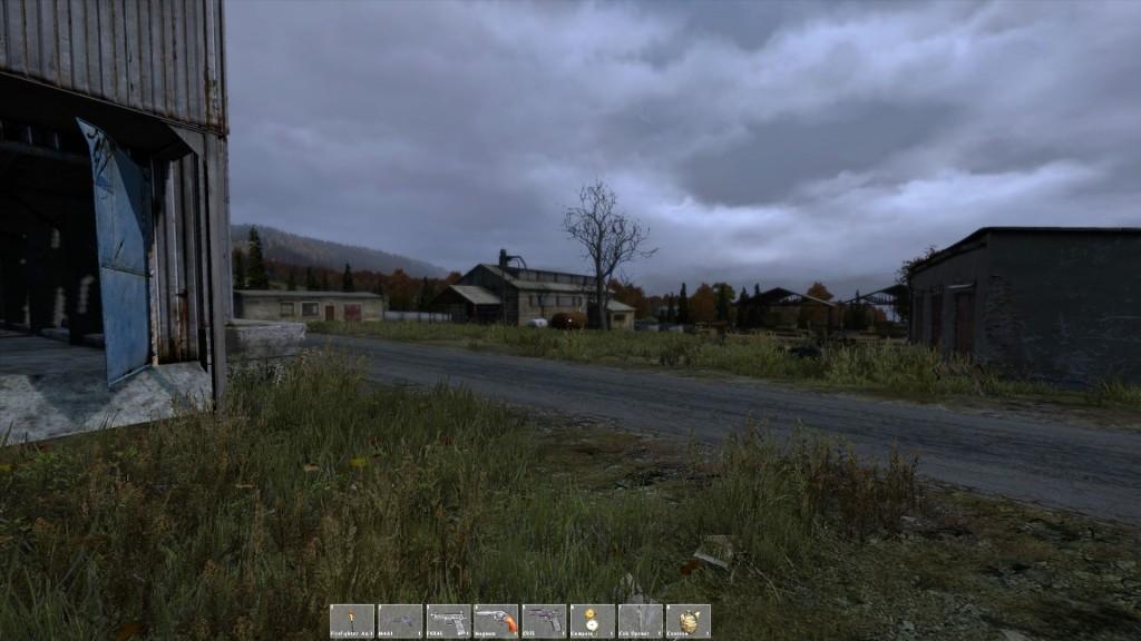 """Das """"neue"""" Dorf im Nordwesten ist ein interessanter Mix aus Ruinen und verlassener Holzindustrie."""