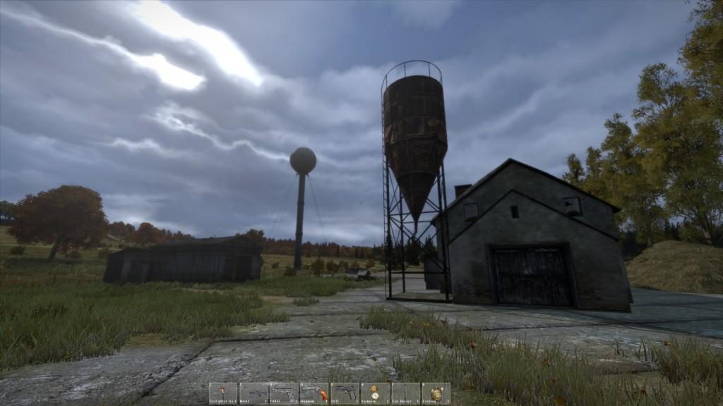 Ein wundersamer Turm im Süden von Grishino.