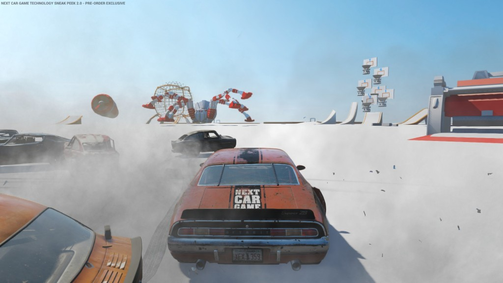 Der Technology Sneak Peak 2.0 im Next Car Game.