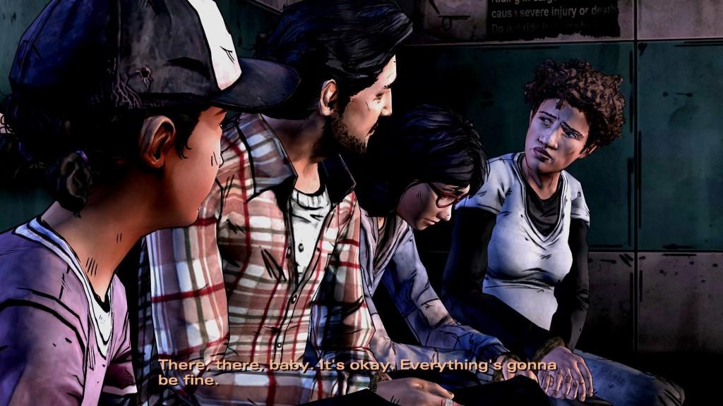 Äh ja, natürlich wird alles gut, wie immer und das auch in The Walking Dead Staffel 2. Oder auch nicht.