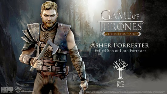 GoT The Lost Lords Asher Forrester