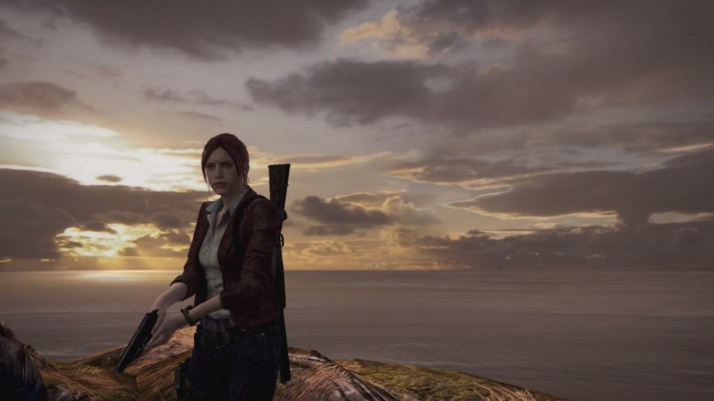 Resident Evil Revelations 2 spielt zu 90 Prozent in kargen Industriekomplexen, aber ein, zwei Panorama-Screenshots bietet es auch.