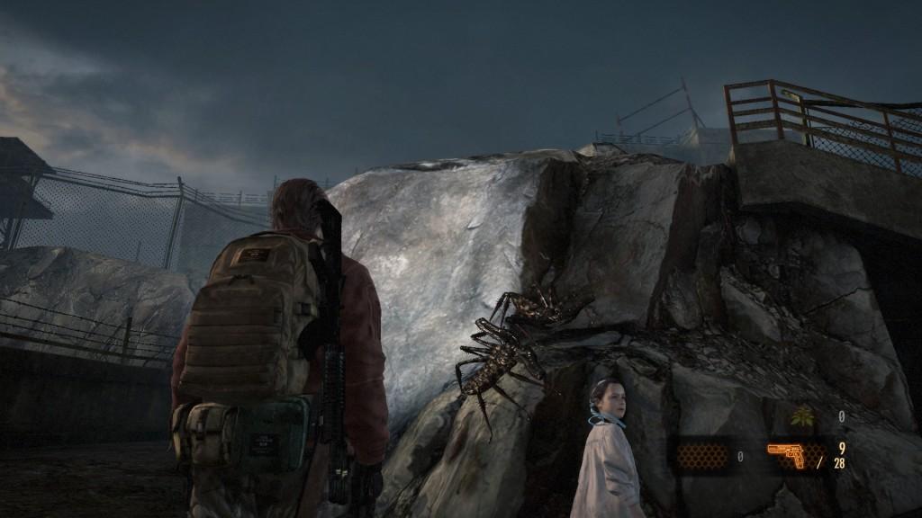 Barry und das mysteriöse, aufmüpfige Mädchen ins The Last of, ah ne, in Resident Evil Revelations 2.