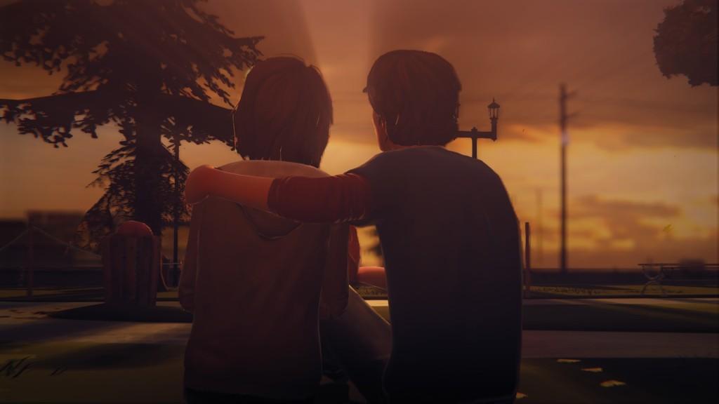 Max und Warren in Life Is Strange Ep. 2.