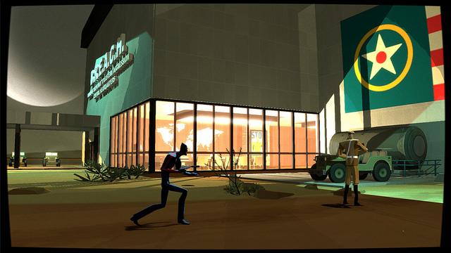 Auf dem Weg zum nächsten Counterspy Abenteuer - hier auf der PlayStation 4.