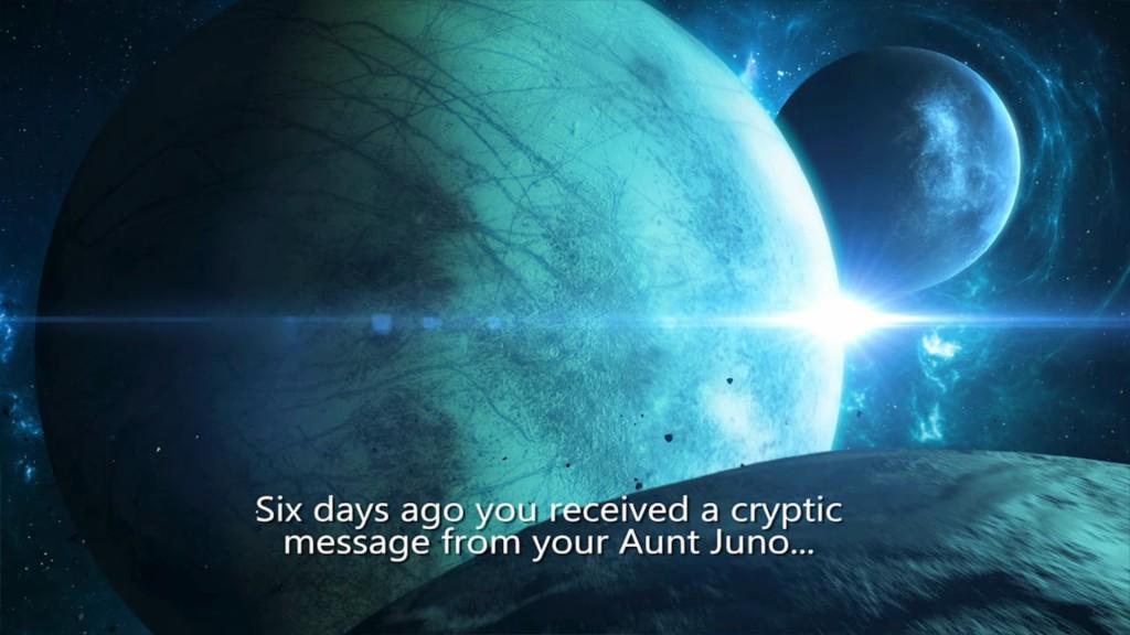 In den unendlichen Weiten des Weltraums...muss das Tantchen gefunden werden...